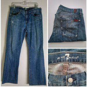 7 For All Mankind | Bootcut Denim Jeans
